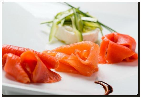 Ittici e Tonno salmone affumicato